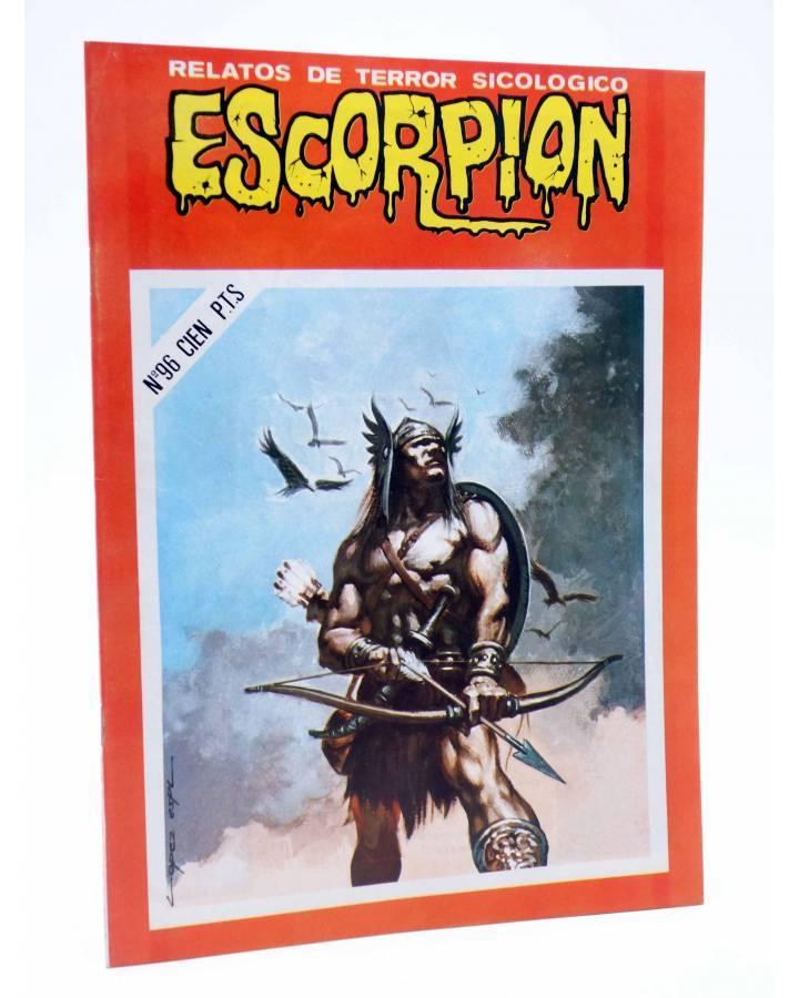 Cubierta de ESCORPIÓN. RELATOS DE TERROR SICOLÓGICO 96 (Vvaa) Vilmar 1985
