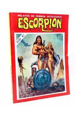 Cubierta de ESCORPIÓN. RELATOS DE TERROR SICOLÓGICO EXTRA 5. RETAPADO 87 88 89 90 91 (Vvaa) Vilmar 1985
