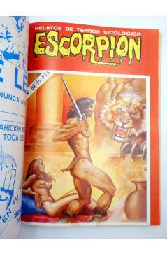Muestra 4 de ESCORPIÓN. RELATOS DE TERROR SICOLÓGICO EXTRA 5. RETAPADO 87 88 89 90 91 (Vvaa) Vilmar 1985