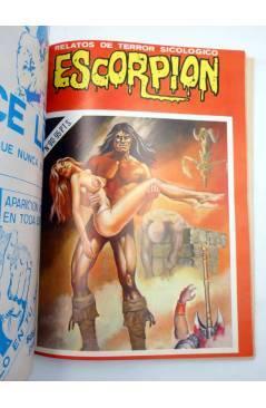 Muestra 5 de ESCORPIÓN. RELATOS DE TERROR SICOLÓGICO EXTRA 5. RETAPADO 87 88 89 90 91 (Vvaa) Vilmar 1985
