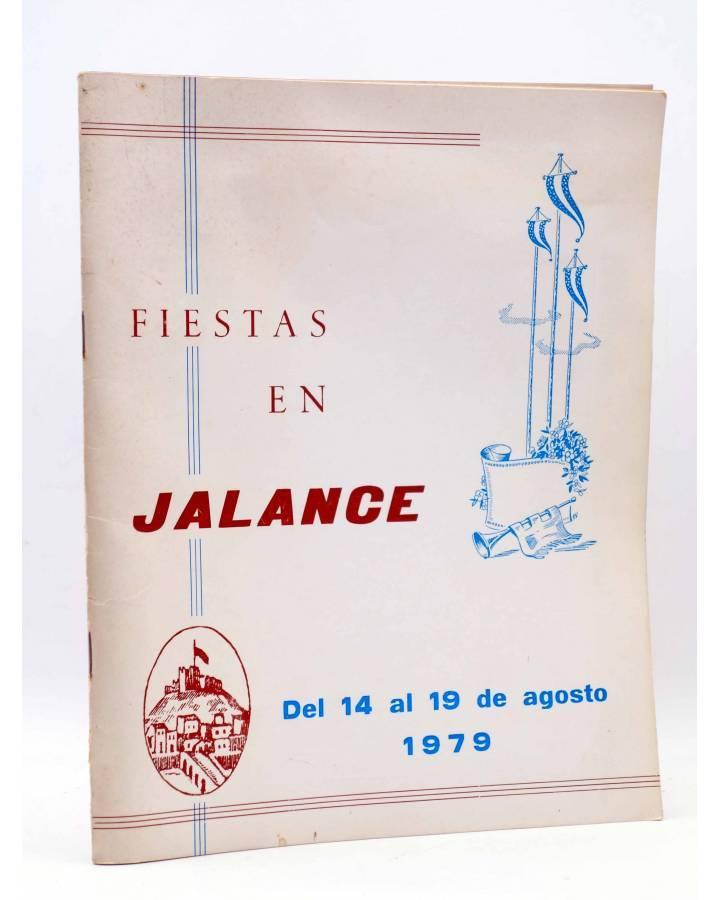 Cubierta de PROGRAMA DE FIESTAS EN JALANCE. DEL 14 AL 19 DE AGOSTO DE 1979 (Vvaa) Valencia 1979