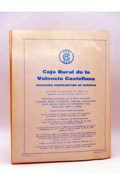 Contracubierta de PROGRAMA DE FIESTAS EN JALANCE. DEL 14 AL 19 DE AGOSTO DE 1979 (Vvaa) Valencia 1979