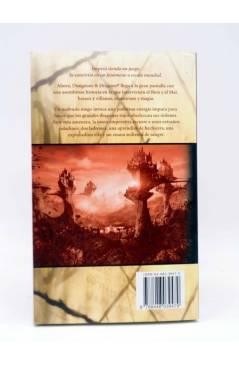 Contracubierta de DUNGEONS AND DRAGONS. LA PELÍCULA (Neal Barrett Jr.) Timun Mas 2001. Fantasía Épica