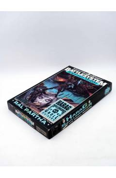 Contracubierta de CAJA BOX ADVANCED DUNGEONS AND DRAGONS BATTLE SYSTEM. HARAG SKULLSMASHER. Ral Partha 1991