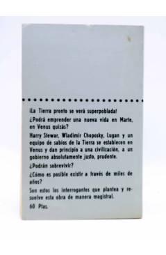 Contracubierta de SUPER FICCIÓN 2. GENERACIONES PERDIDAS (E. Richard Bessiere) Producciones Editoriales 1976