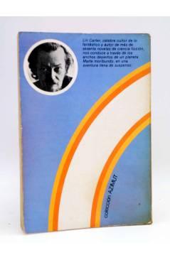 Contracubierta de AZIMUT. EL VALLE MÁS ALLÁ DEL TIEMPO (Lin Carter) Intersea 1976