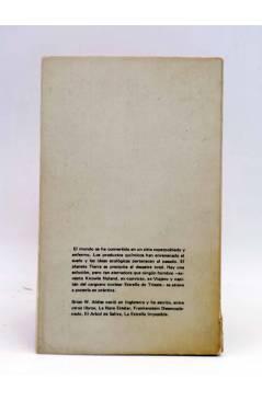 Contracubierta de NEBULAE CIENCIA FICCIÓN 27. UN MUNDO DEVASTADO (Brian W. Aldiss) Edhasa 1978