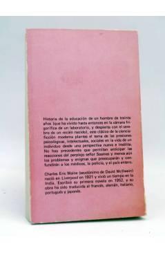 Contracubierta de NEBULAE CIENCIA FICCIÓN 41. LA MENTE DEL SEÑOR SOAMES (Charles Eric Maine) Edhasa 1980