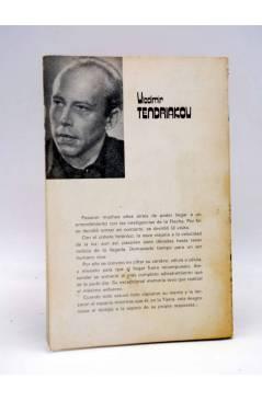 Contracubierta de ALBIA FICCIÓN 8. VIAJE DE UN SIGLO (Vladimir Tendriakov) Albia 1979