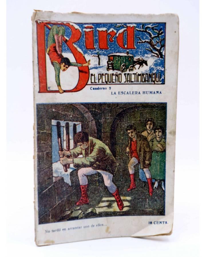 Cubierta de BIRD EL PEQUEÑO SALTIMBANQUI 9. La escalera humana (Eleme) Librería Granada Circa 1920
