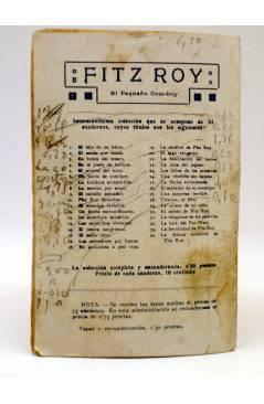 Contracubierta de BIRD EL PEQUEÑO SALTIMBANQUI 11. Noble corazón (Eleme) Librería Granada Circa 1920