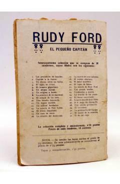 Contracubierta de BIRD EL PEQUEÑO SALTIMBANQUI 13. A toda velocidad (Eleme) Librería Granada Circa 1920