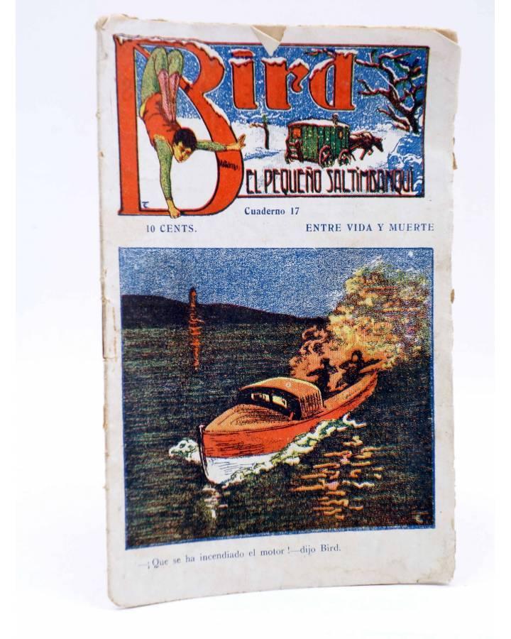 Cubierta de BIRD EL PEQUEÑO SALTIMBANQUI 17. Entre vida y muerte (Eleme) Librería Granada Circa 1920