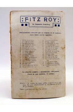 Contracubierta de BIRD EL PEQUEÑO SALTIMBANQUI 17. Entre vida y muerte (Eleme) Librería Granada Circa 1920