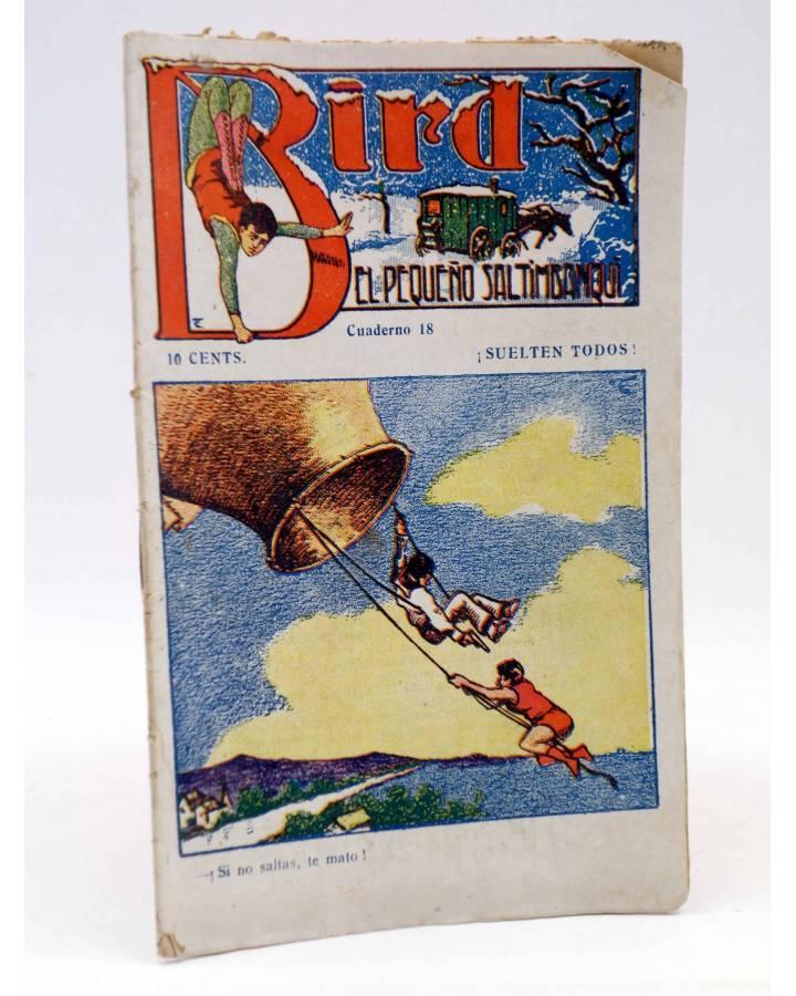 Cubierta de BIRD EL PEQUEÑO SALTIMBANQUI 18. ¡Suelten todos! (Eleme) Librería Granada Circa 1920