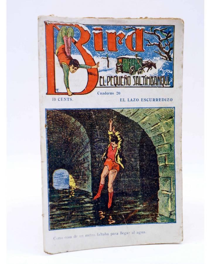 Cubierta de BIRD EL PEQUEÑO SALTIMBANQUI 20. El lazo escurredizo (Eleme) Librería Granada Circa 1920
