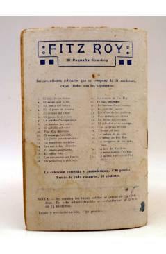 Contracubierta de BIRD EL PEQUEÑO SALTIMBANQUI 20. El lazo escurredizo (Eleme) Librería Granada Circa 1920