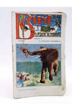 Cubierta de BIRD EL PEQUEÑO SALTIMBANQUI 21. El elefante amaestrado (Eleme) Librería Granada Circa 1920