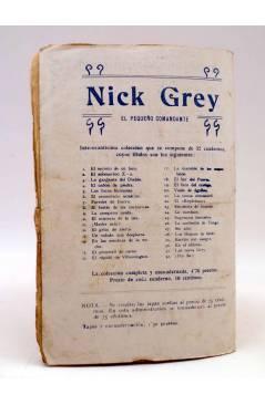 Contracubierta de BIRD EL PEQUEÑO SALTIMBANQUI 21. El elefante amaestrado (Eleme) Librería Granada Circa 1920