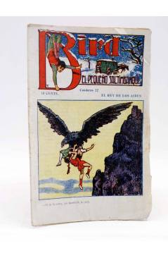 Cubierta de BIRD EL PEQUEÑO SALTIMBANQUI 22. El rey de los aires (Eleme) Librería Granada Circa 1920