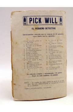 Contracubierta de BIRD EL PEQUEÑO SALTIMBANQUI 22. El rey de los aires (Eleme) Librería Granada Circa 1920