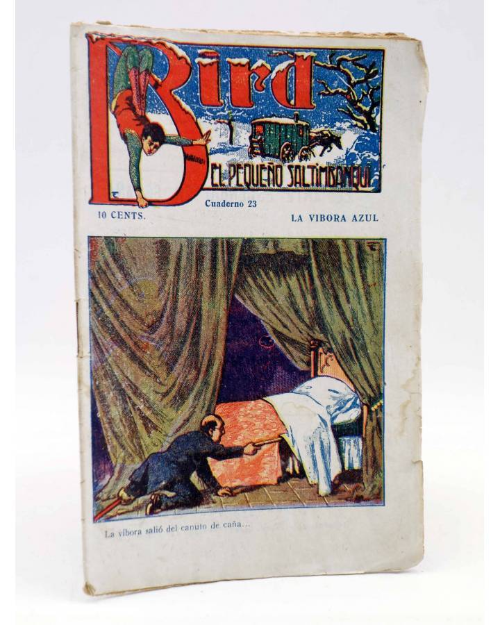 Cubierta de BIRD EL PEQUEÑO SALTIMBANQUI 23. La víbora azul (Eleme) Librería Granada Circa 1920