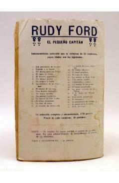 Contracubierta de BIRD EL PEQUEÑO SALTIMBANQUI 23. La víbora azul (Eleme) Librería Granada Circa 1920