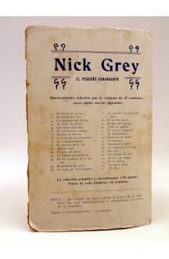 Contracubierta de BIRD EL PEQUEÑO SALTIMBANQUI 29. El último momento (Eleme) Librería Granada Circa 1920