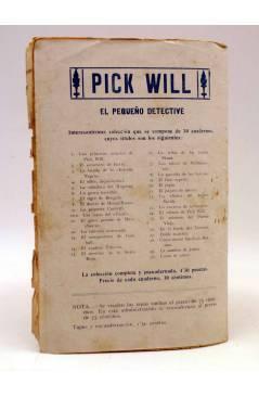 Contracubierta de BIRD EL PEQUEÑO SALTIMBANQUI 32. La bahía de Calvay (Eleme) Librería Granada Circa 1920