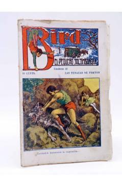 Cubierta de BIRD EL PEQUEÑO SALTIMBANQUI 33. Las tenazas de Forton (Eleme) Librería Granada Circa 1920