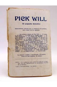 Contracubierta de BIRD EL PEQUEÑO SALTIMBANQUI 33. Las tenazas de Forton (Eleme) Librería Granada Circa 1920