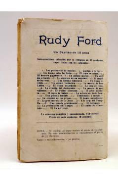 Contracubierta de BIRD EL PEQUEÑO SALTIMBANQUI 35. El roble centenario (Eleme) Librería Granada Circa 1920