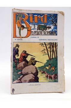 Cubierta de BIRD EL PEQUEÑO SALTIMBANQUI 38. Garobing Triunfante (Eleme) Librería Granada Circa 1920