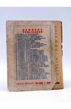 Contracubierta de EL FOLLETÍN 1ª ÉPOCA AÑO I Nº 42. EL CONDE DE MONTECRISTO TOMO III (A. Dumas) Prensa Popular 1924