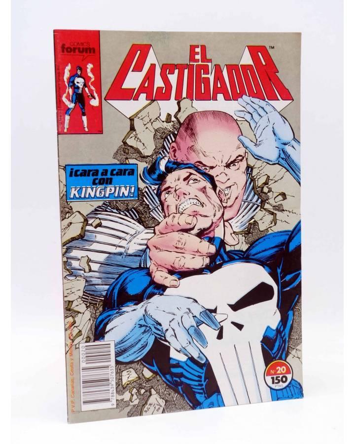 Cubierta de EL CASTIGADOR / THE PUNISHER 20. CARA A CARA CON KINPING (Baron / Portaccio) Forum 1989