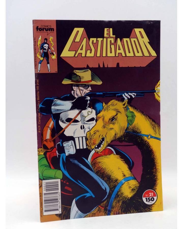 Cubierta de EL CASTIGADOR / THE PUNISHER 21. LA ARAÑA (Mike Baron / Larry Stroman) Forum 1989