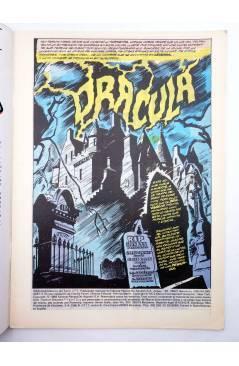 Muestra 1 de CLASICOS DEL TERROR: DRÁCULA 1 (Gerry Conway / Gene Colan) Forum 1988