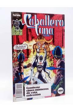 Cubierta de CABALLERO LUNA. RETAPADO NºS 1 A 5 (Alan Zelenetz / Chris Warner) Forum 1990