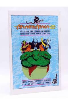 Contracubierta de ESTELA PLATEADA / SILVER SURFER 10. MÁSCARAS (Englehart / Staton) Forum 1989