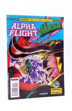 Cubierta de MARVEL TWO IN ONE ALPHA FLIGHT / LA MASA 44 (Vvaa) Forum 1989