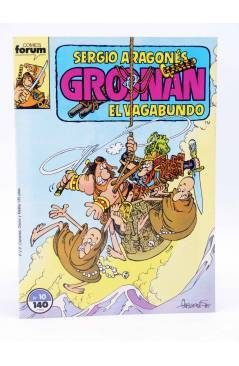 Muestra 3 de GROONAN EL VAGABUNDO 1 2 3 4 5 6 10. LOTE DE 7 (Sergio Aragonés) Forum 1987