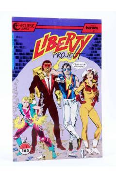 Muestra 8 de LIBERTY PROJECT 1 A 7. COLECCIÓN COMPLETA (Kurt Busiek / James W. Fry) Forum 1990