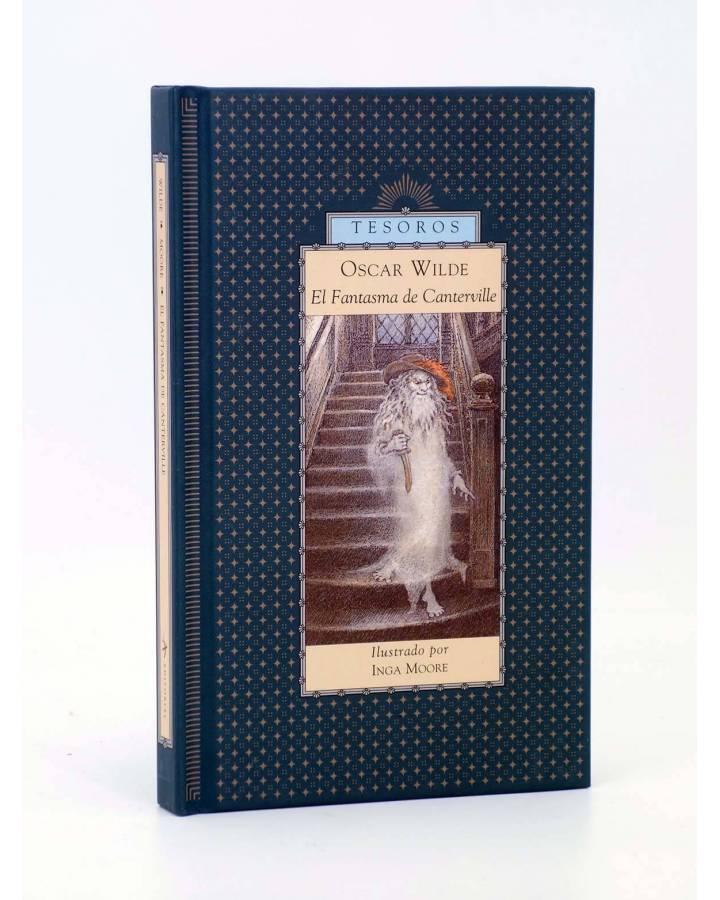 Cubierta de ALBA TESOROS. EL FANTASMA DE CANTERVILLE (Oscar Wilde / Inga Moore) Alba 1998
