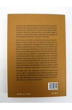 Contracubierta de M DE MÚSICA. DEL OÍDO A LA ALQUIMIA EMOCIONAL (Josep M Romero Fillat) Alba 2011