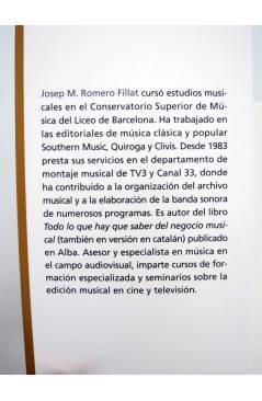 Muestra 1 de M DE MÚSICA. DEL OÍDO A LA ALQUIMIA EMOCIONAL (Josep M Romero Fillat) Alba 2011