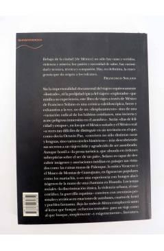 Contracubierta de TRAYECTOS 26. BAJO LAS NUBES DE MÉXICO (Francisco Solano) Alba 2001