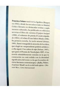Muestra 1 de TRAYECTOS 26. BAJO LAS NUBES DE MÉXICO (Francisco Solano) Alba 2001