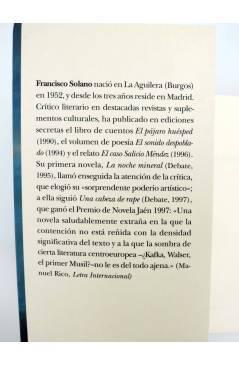 Muestra 3 de TRAYECTOS 26. BAJO LAS NUBES DE MÉXICO (Francisco Solano) Alba 2001