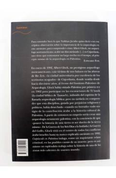 Contracubierta de CREPÚSCULO EN PALESTINA. EL ASESINATO DEL DOCTOR ALBERT GLOCK (Edward Fox) Alba 2003