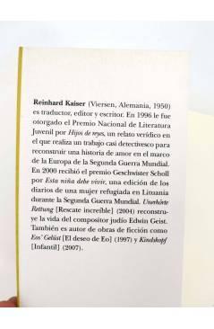 Muestra 1 de TRAYECTOS. HIJOS DE REYES. UNA VERDADERA HISTORIA DE AMOR (Reinhard Kaiser) Alba 2007